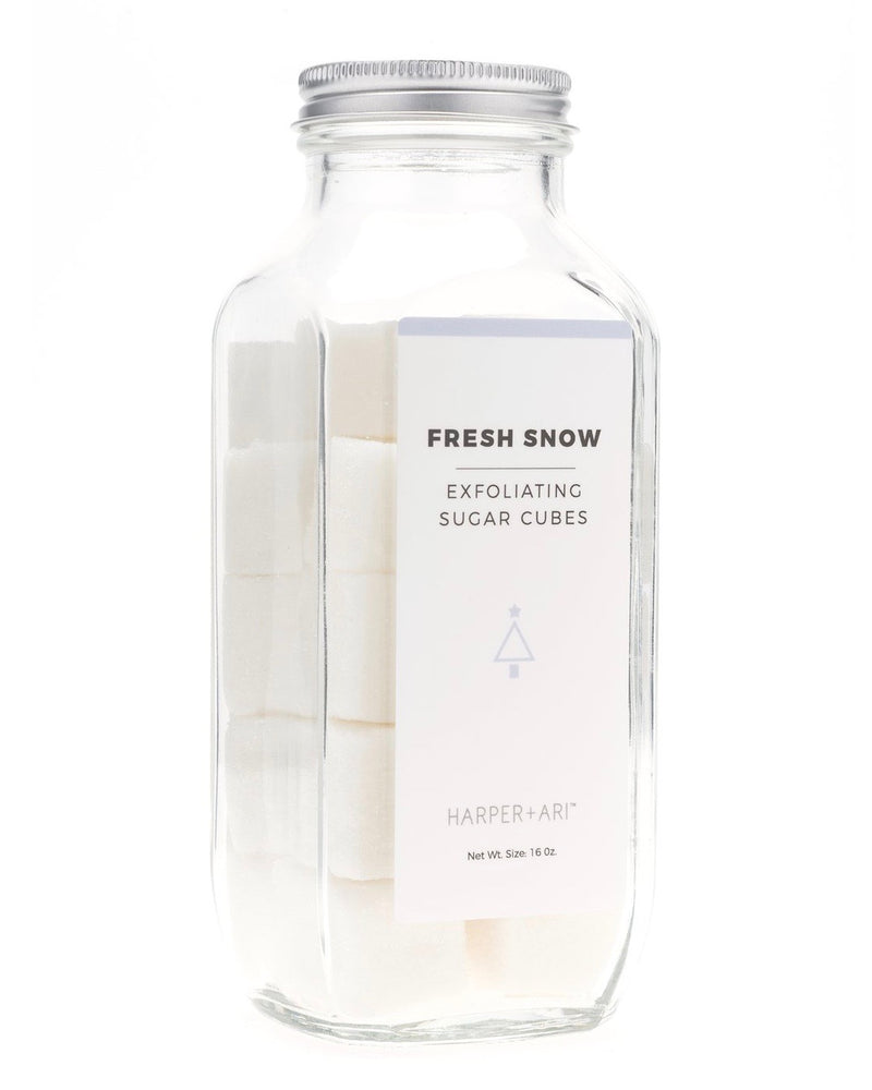 Fresh Snow Exfoliating Sugar Cubes