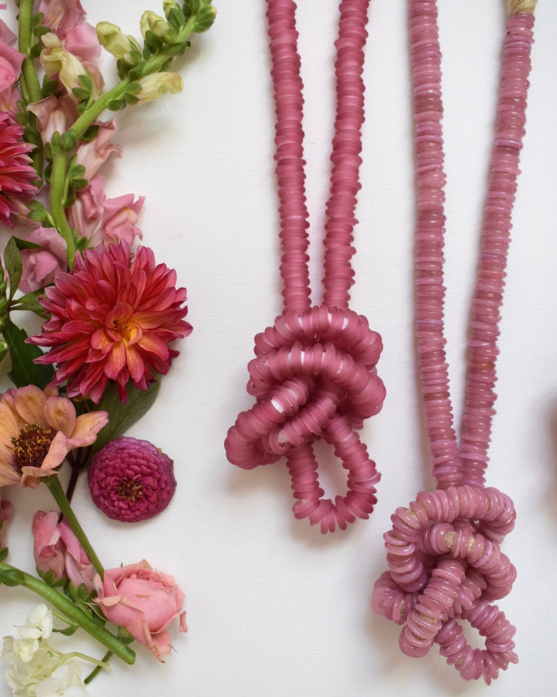 Cristina V Trade Beads, Pink Collection