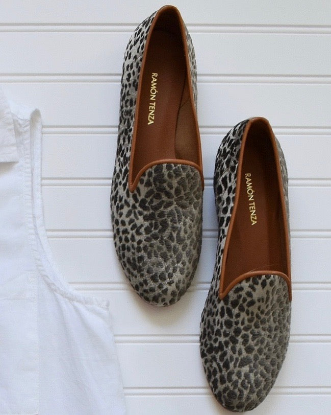 Ramon Tenza Leopard Loafer