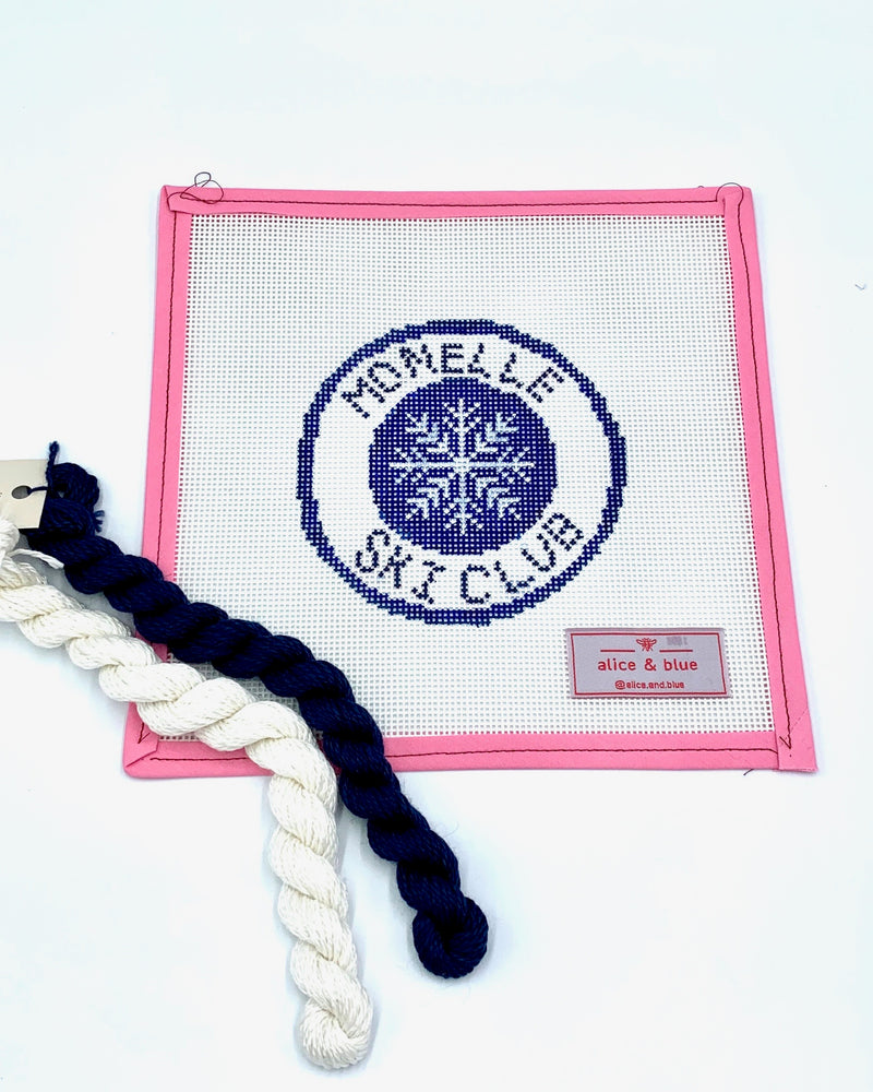 Alice & Blue Needlepoint Kit