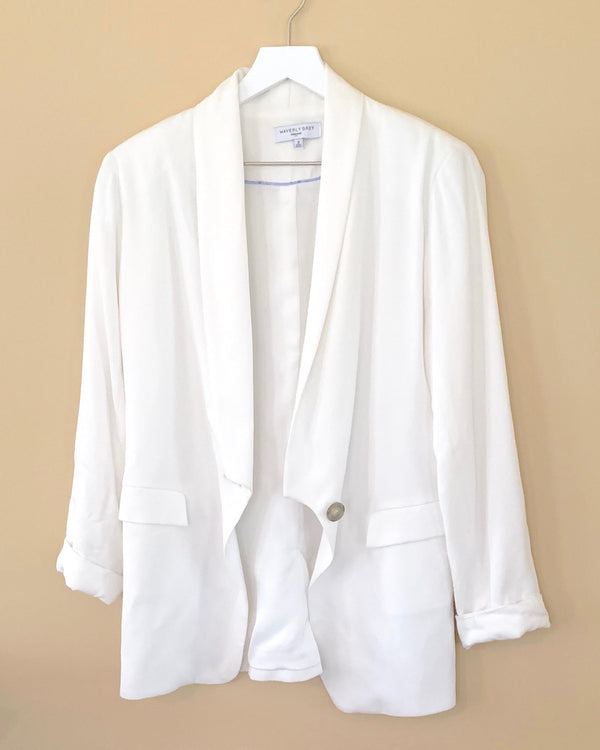 Waverly Grey Bright White Blazer