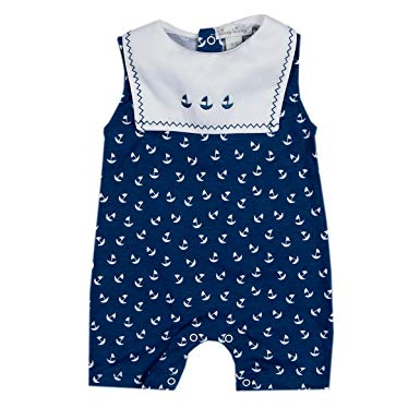 Kissy Kissy Sail Away Navy Playsuit