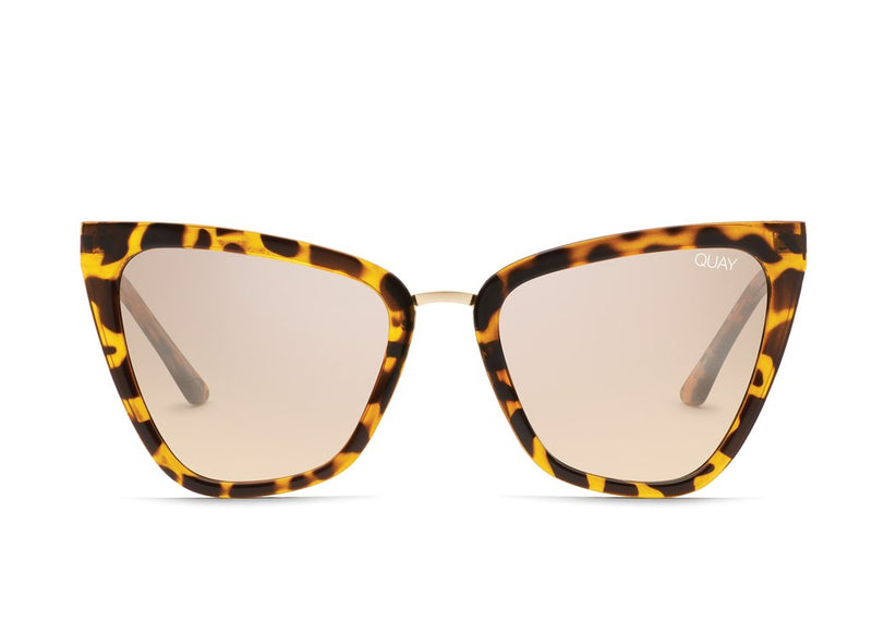 QUAY Australia Tortoise Ultra Cat Eye Sunnies