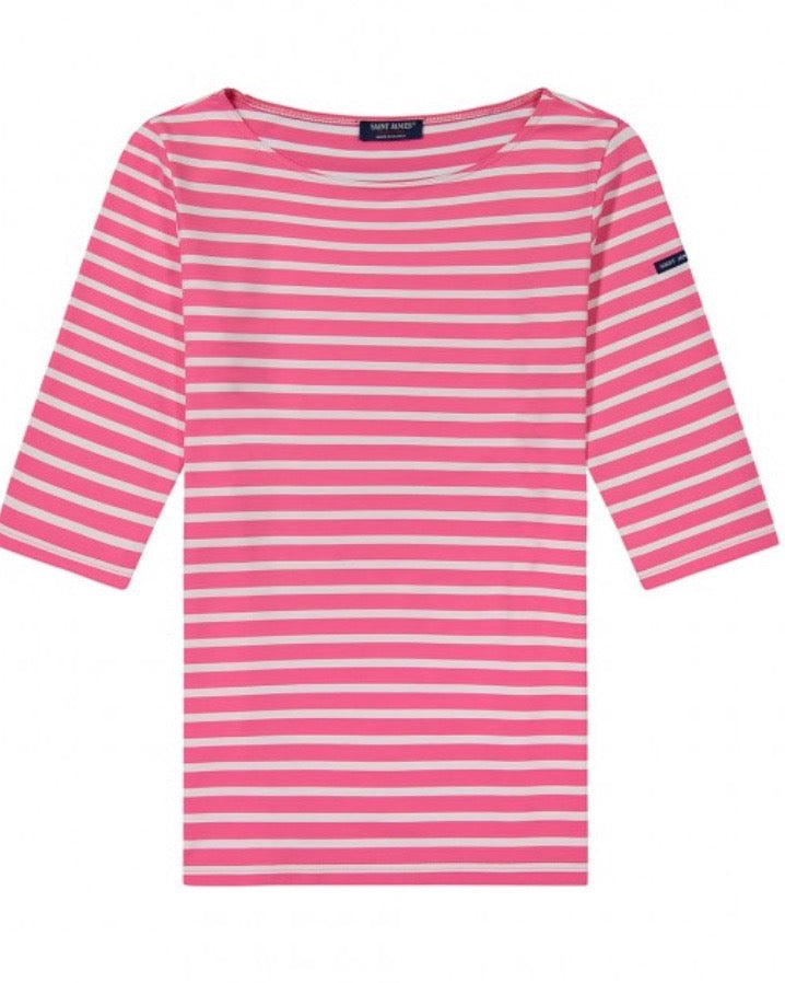 "Saint James Neon/Neige ""Phare"" Striped Tunic"