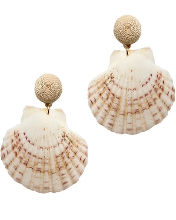 Monelle Vermont Shell Drop Earrings