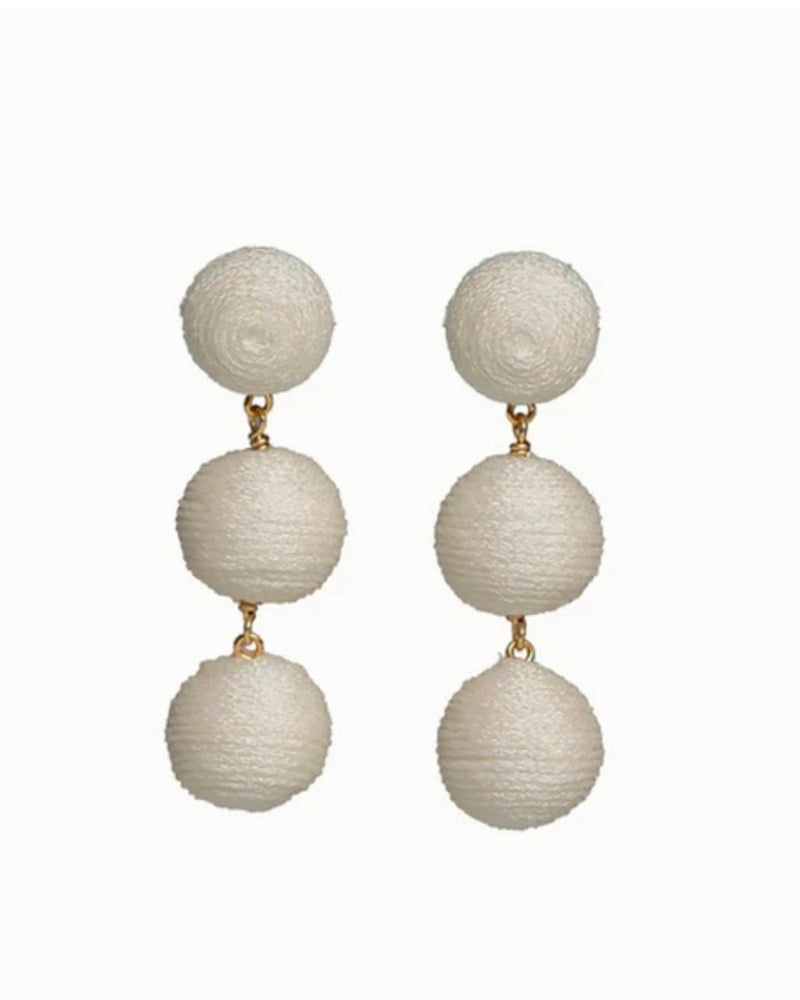 KEP Designs 3-Drop Mini Earrings