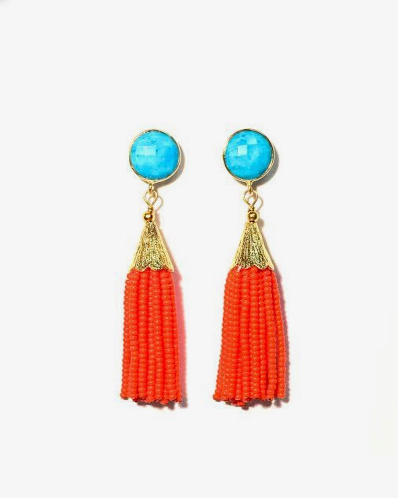Sugar Tassel Earrings