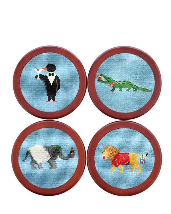 Smathers & Branson Party Animal Coaster Set
