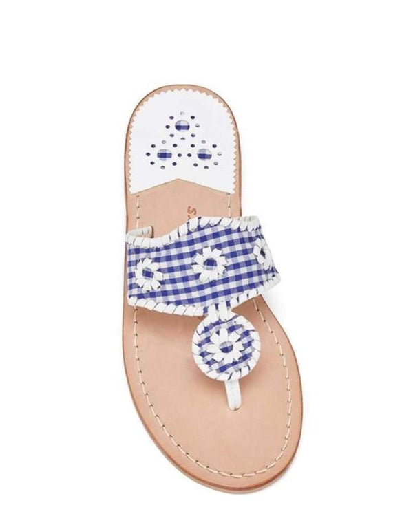 Jack Rogers Gingham Palm Beach Sandal