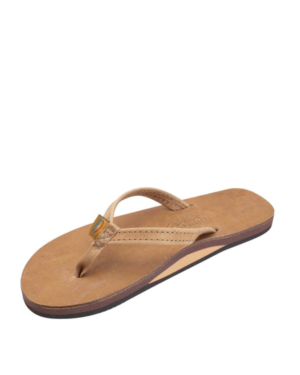 "Rainbow Sandals Premier Leather Ladies 1/2"" Narrow Strap"