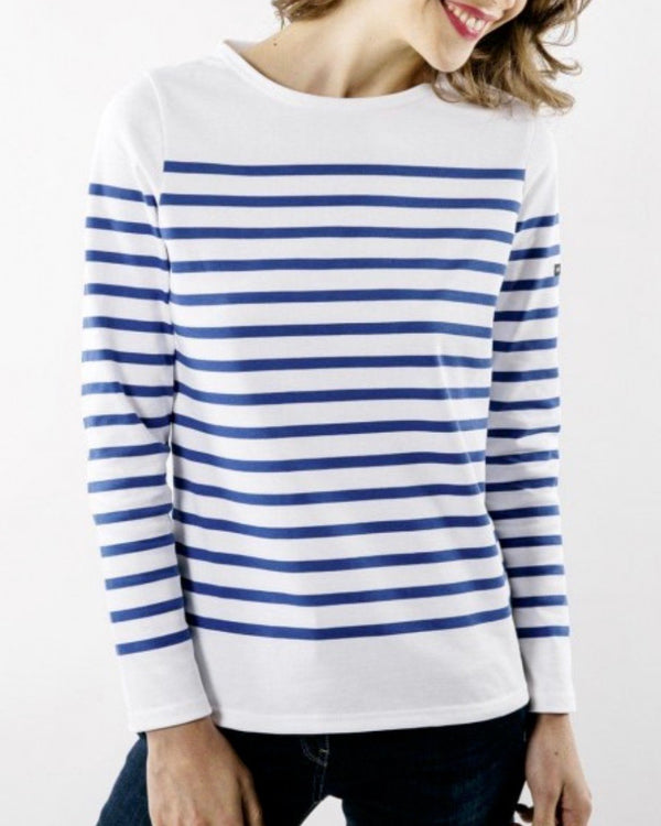 Saint James Naval Femme Striped Shirt