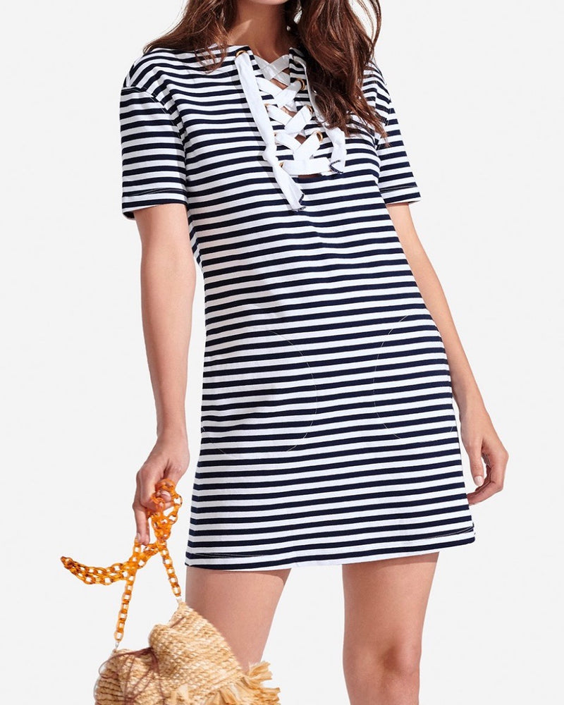Persifor Striped Dress