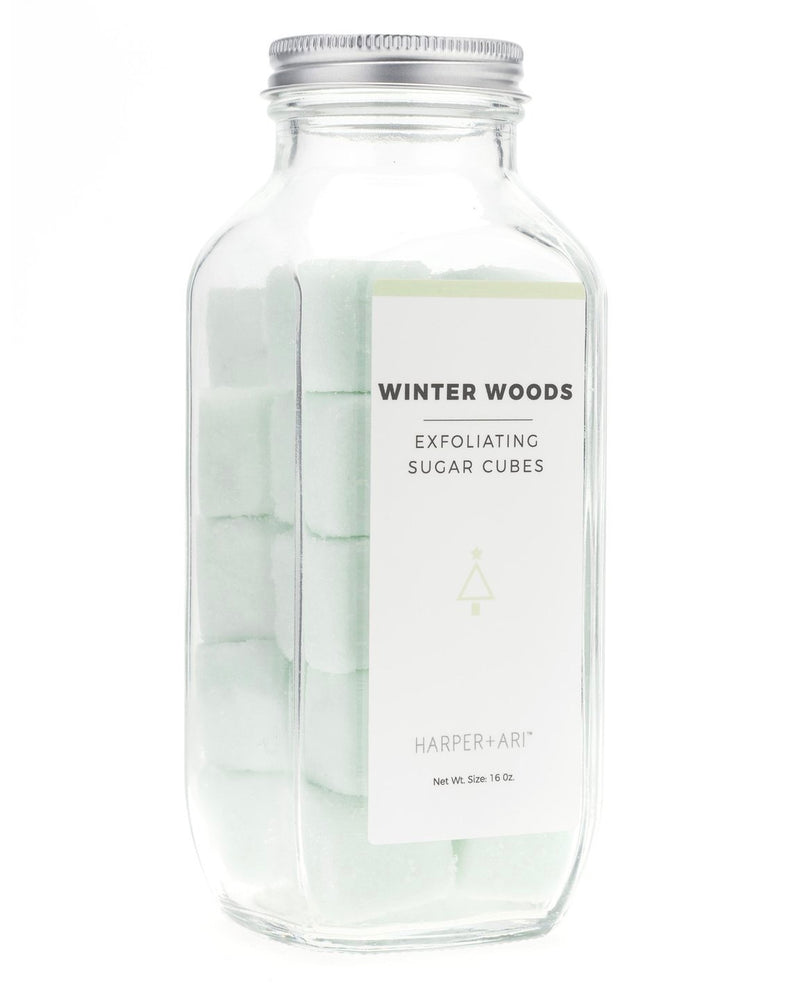 Winter Woods Exfoliating Sugar Cubes