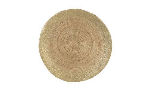 Shiraleah - SHANTI 42 IN ROUND RUG,NATURAL
