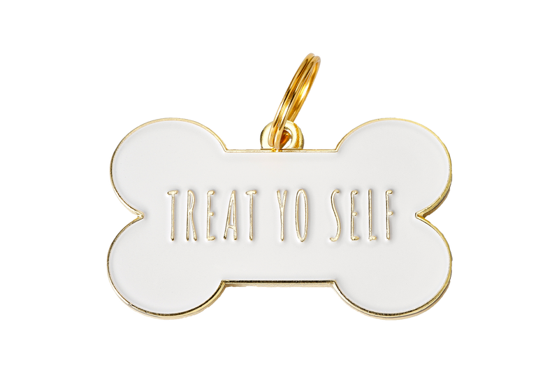 Two Tails Pet Company - Treat Yo Self Collar Charm