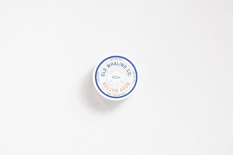 Old Whaling Company - Indigo + Rice Body Butter 8oz