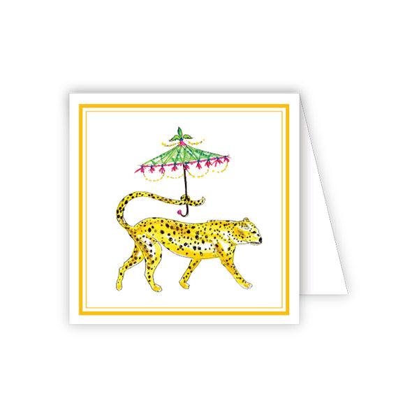 RosanneBeck Collections - Dressed Up Cheetah Enclosure Card