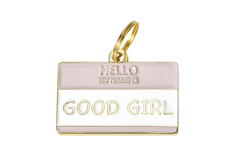 Two Tails Pet Company - Good Girl Collar Charm