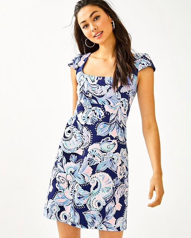 Lilly Pulitzer Laurent Dress High Tide Navy