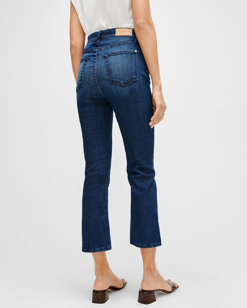 7FAM Highwaist Slim Kick Denim