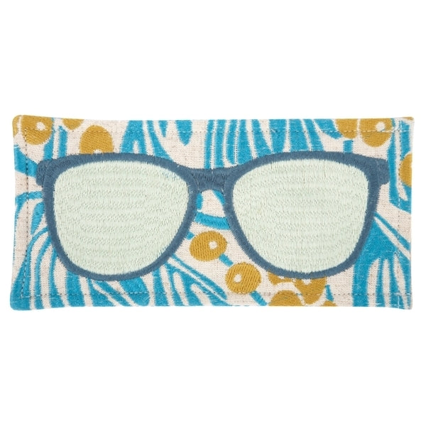THOMASPAUL Peacock Marnie Sunglass Case