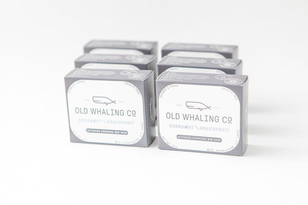 Old Whaling Company - Bergamot + Grapefruit Bar Soap