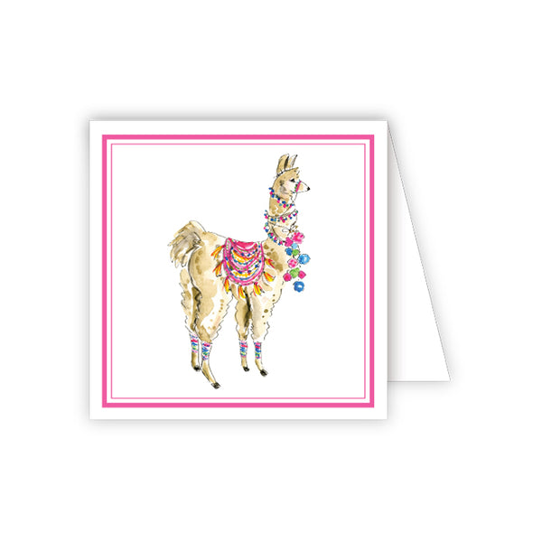 RosanneBeck Collections - Dressed Up Llama Enclosure Card