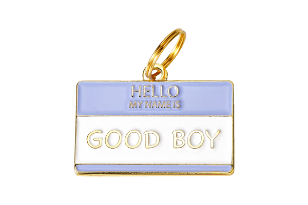 Two Tails Pet Company - Good Boy Collar Charm