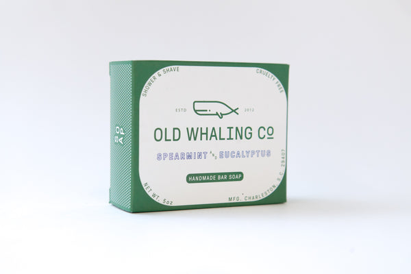 Old Whaling Company - Spearmint + Eucalyptus Bar Soap