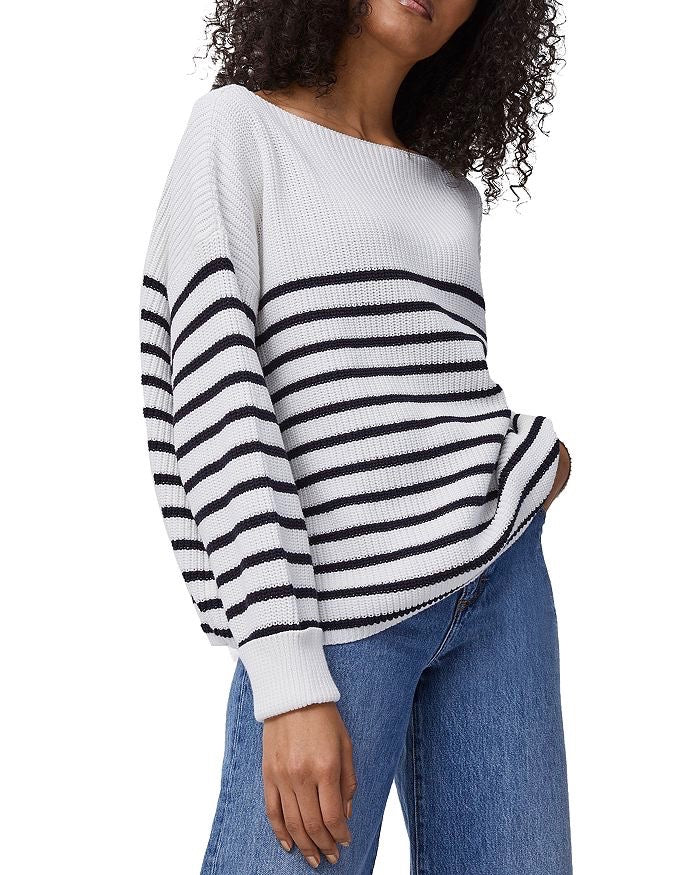 French Connection Stripe Mozart Jumper