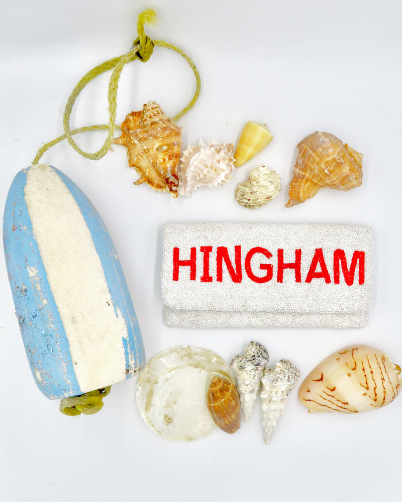 HINGHAM Beaded Clutch