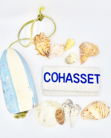 COHASSET Beaded Clutch