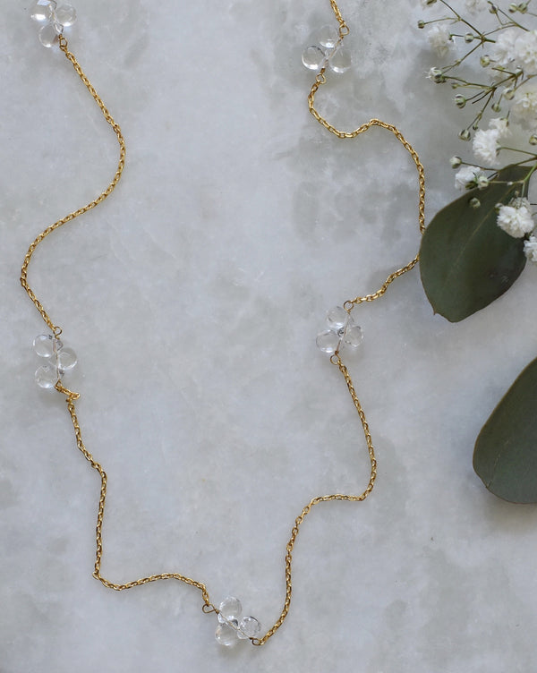 Crystal Clear Layering Necklace