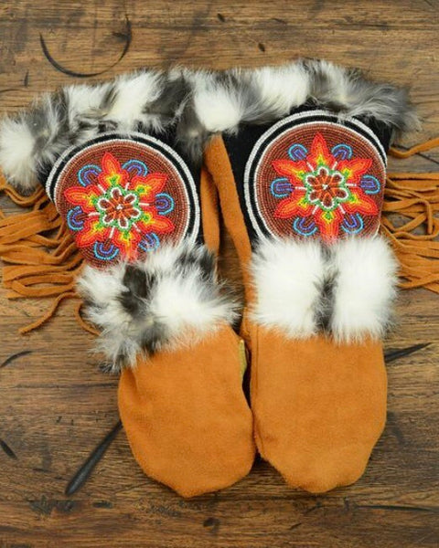 """Pocahontas"" Astis Mittens, Long Cuff"