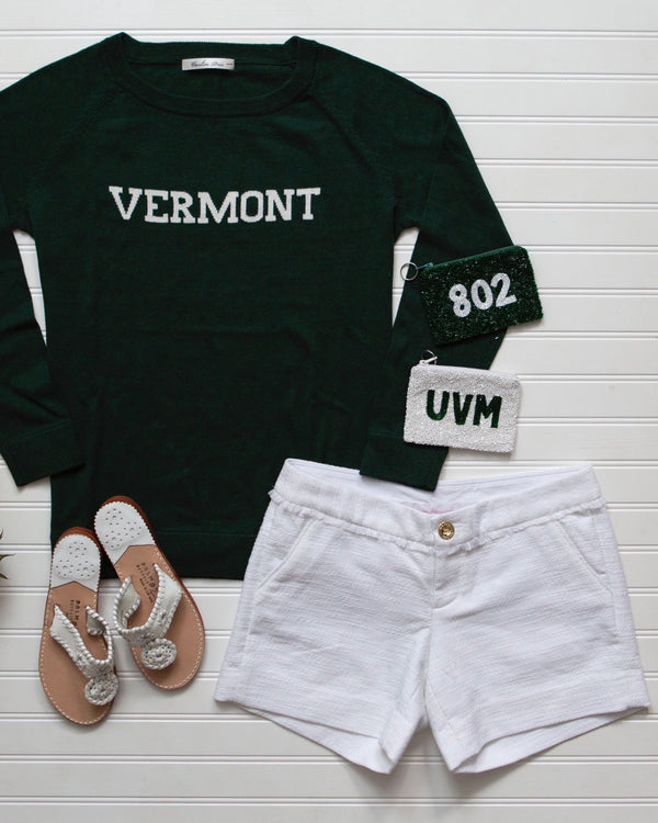 VERMONT cotton sweater - SOLD OUT