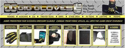 gig glove features