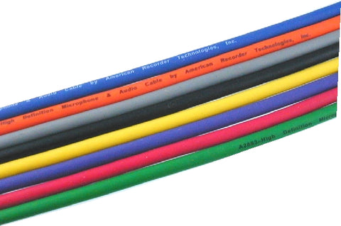 mic cable colors