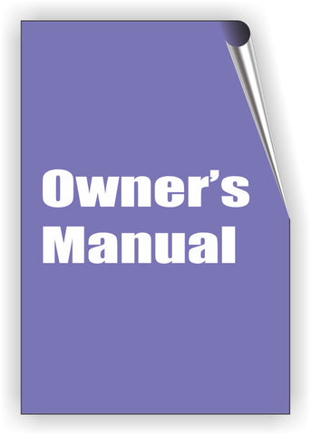 Owners manual for PHO-MIC-0286