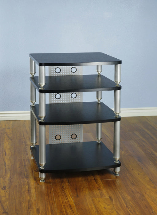 Audio/Video Rack for Hi Fi with 4 shelves