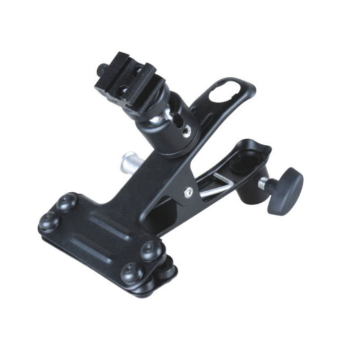 "CLAMP WITH COLDSHOE WITH 5/8"" SOCKET & 5/8 STUD"