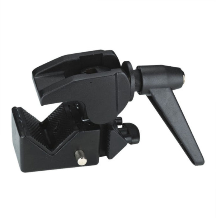 "SUPER CLAMP WITH HANDLE WITH 5/8"" SOCKET & ¼ FEMALE"