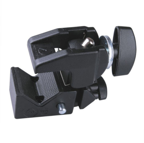 "SUPER CLAMP WITH T-KNOB WITH 5/8"" SOCKET & ¼ FEMALE"