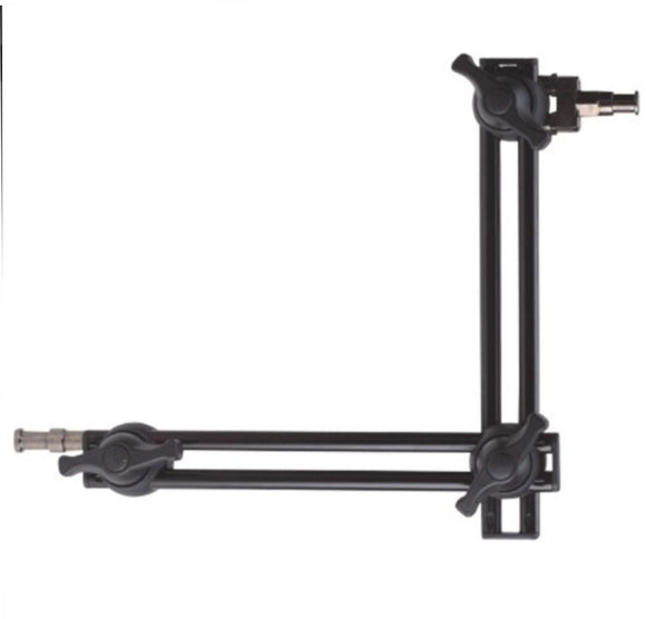 24 inch, 2 - SECTION TWIN ARTICULATED ARM