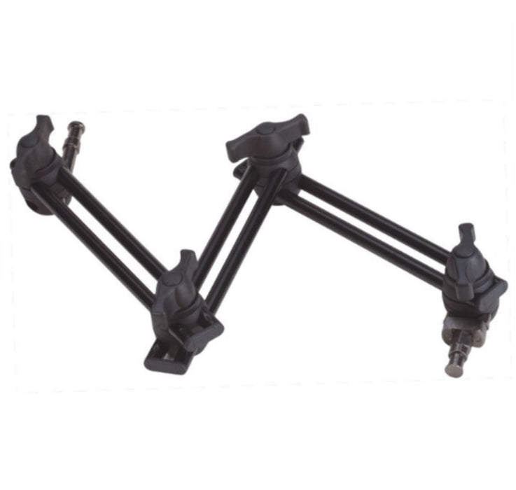 34 inch, 3 - SECTION TWIN ARTICULATED ARM