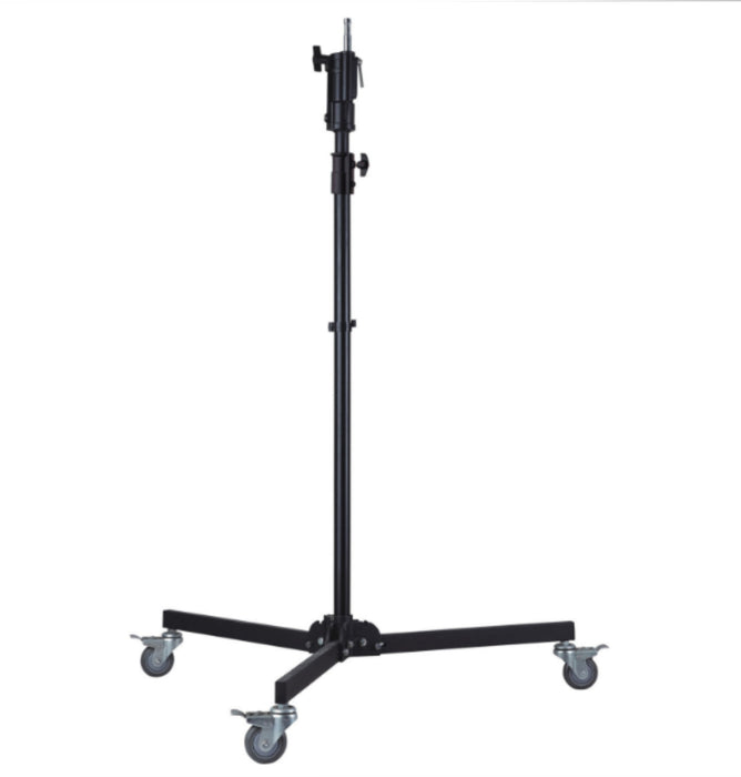 American Recorder V SERIES 7 ft -3 inch LIGHT STAND BASE with CASTERS - JR RECEIVER