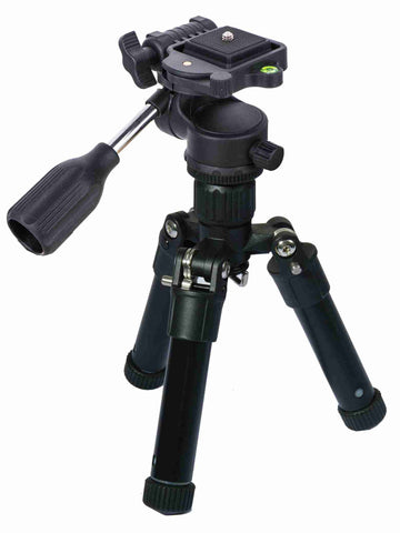 "21"" Aluminum Tripod with Universal ABS Panhead - AMERICAN RECORDER TECHNOLOGIES, INC."