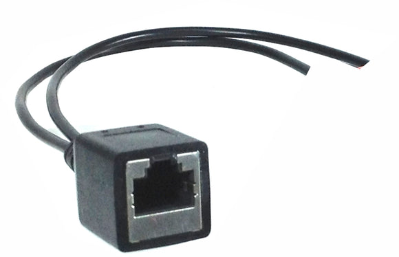 RJ45 (female) to blunt end Adapter Cable for AXIA