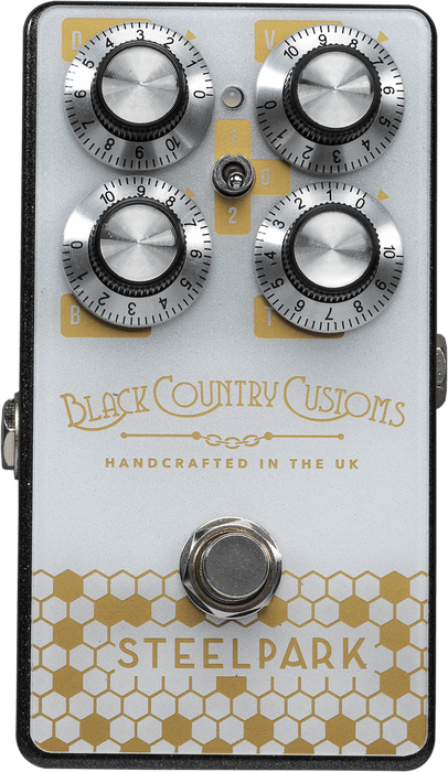 LANEY - Black Country Custom Steelpark BOOST Guitar Pedal