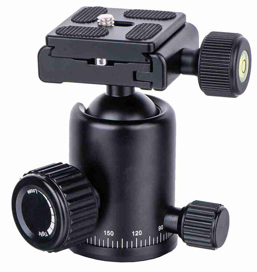 Pro All-Metal Ballhead with square quick release plate
