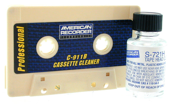 Cassette Cleaner - AMERICAN RECORDER TECHNOLOGIES, INC.